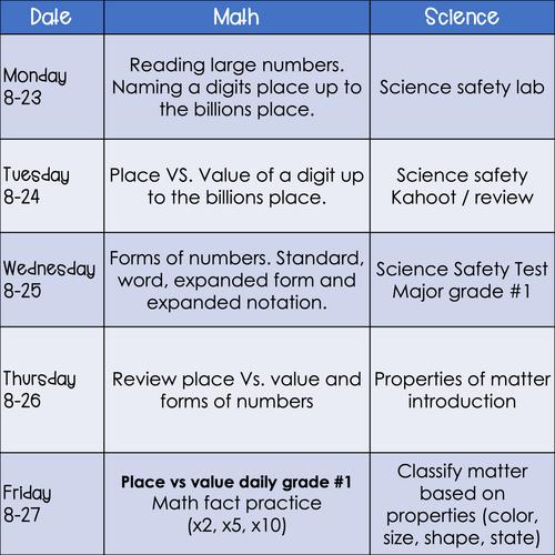 Agenda week of Aug. 23