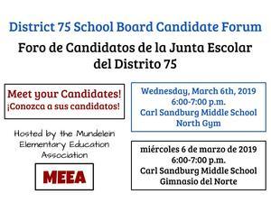 Candidate Forum Flyer