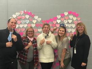 Heart Wall with staff