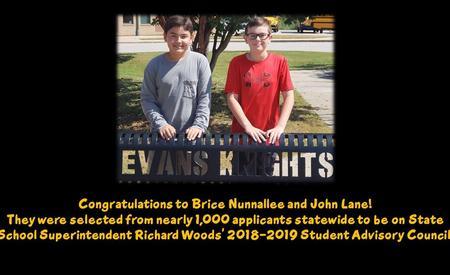 Congratulations to Brice and John!