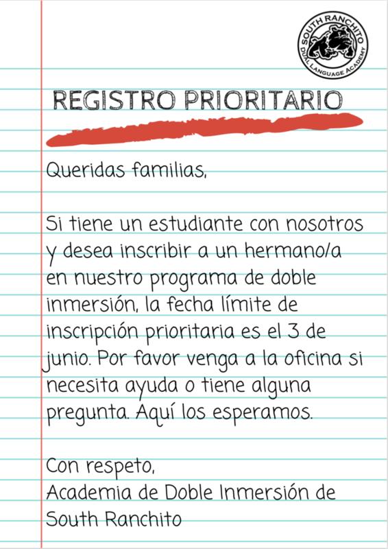 Registro Prioritario