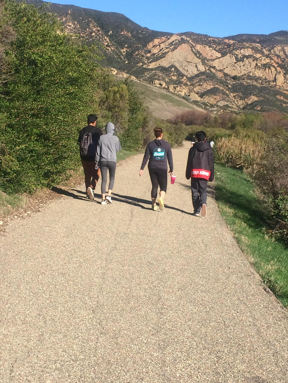Hiking Gaviota Wind Tunnel Trail