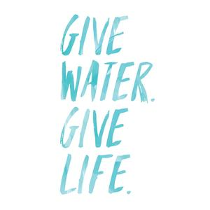 Give water give life