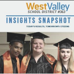 Strategic Plan cover photo of high school graduates