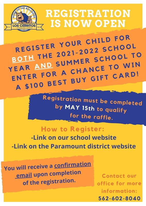 2021-2022 Registration Now Open Featured Photo