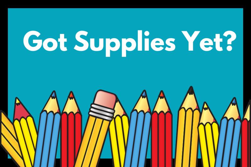Got Supplies Yet?