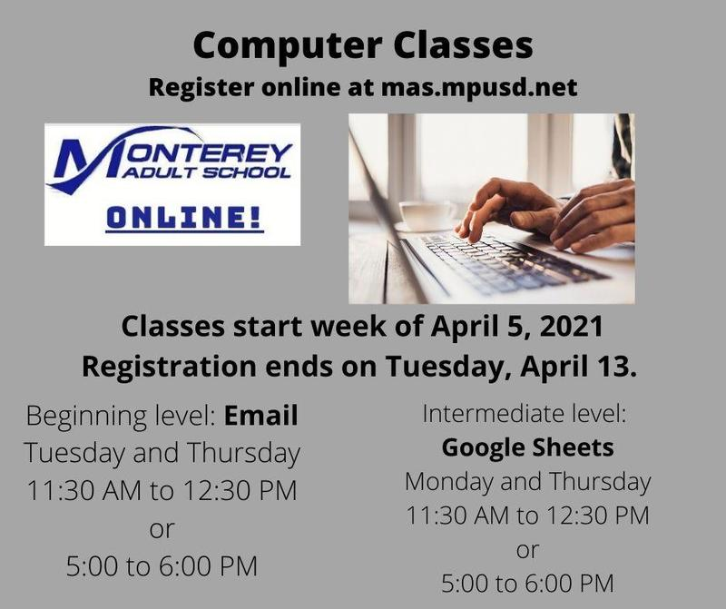 Beginning and Intermediate Computer Classes Featured Photo