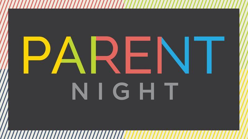 Parent night clipart image