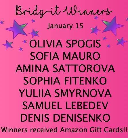 Bridg-it Winners