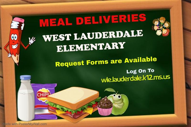 WLE Meal Delivery Request Form Graphic