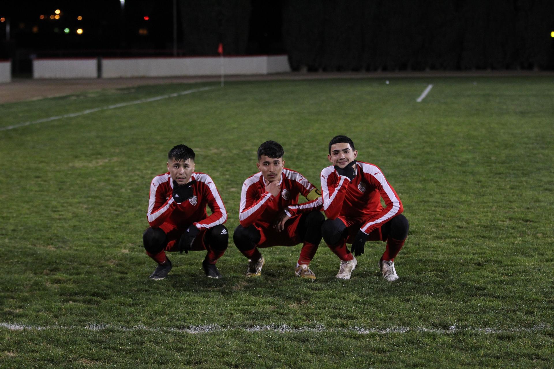 Varsity Boys After Winning League