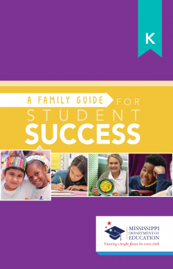 A Family Guide For Student Success - Kindergarten