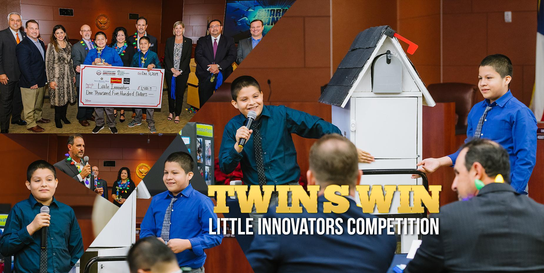 TWINS WIN LITTLE INNOVATORS COMPETITION
