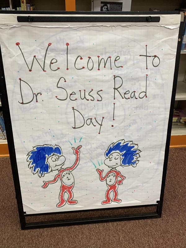 Dr. Seuss Read Day! Featured Photo