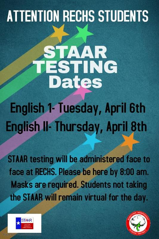 STAAR Testing April 6th and 8th Featured Photo