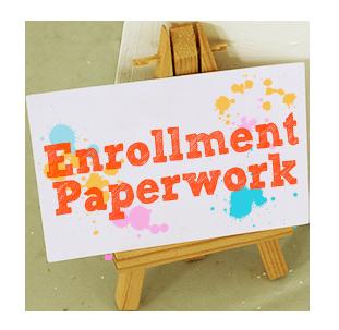 Enrollment paperwork needed