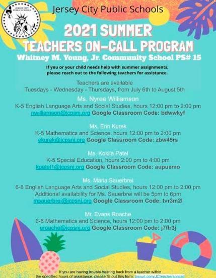 Teachers On-Call Summer 2021 Featured Photo