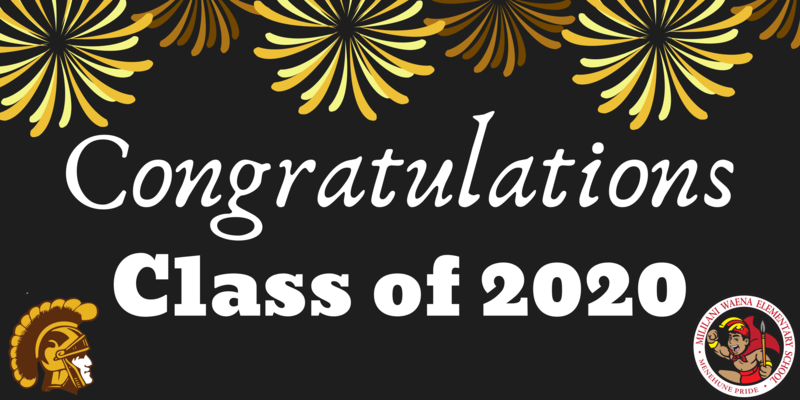 CONGRATULATIONS CLASS OF 2020 Featured Photo