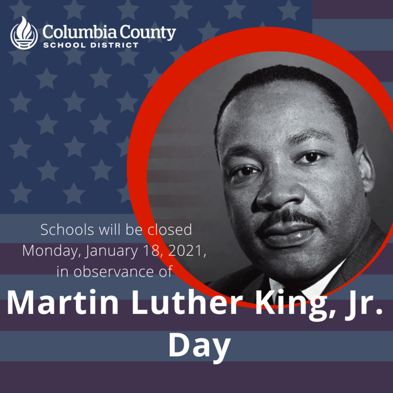 MLK Jr. Day graphic