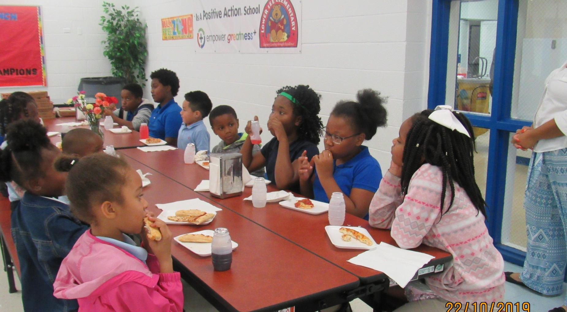 Good Citizens: Pizza with the Principal