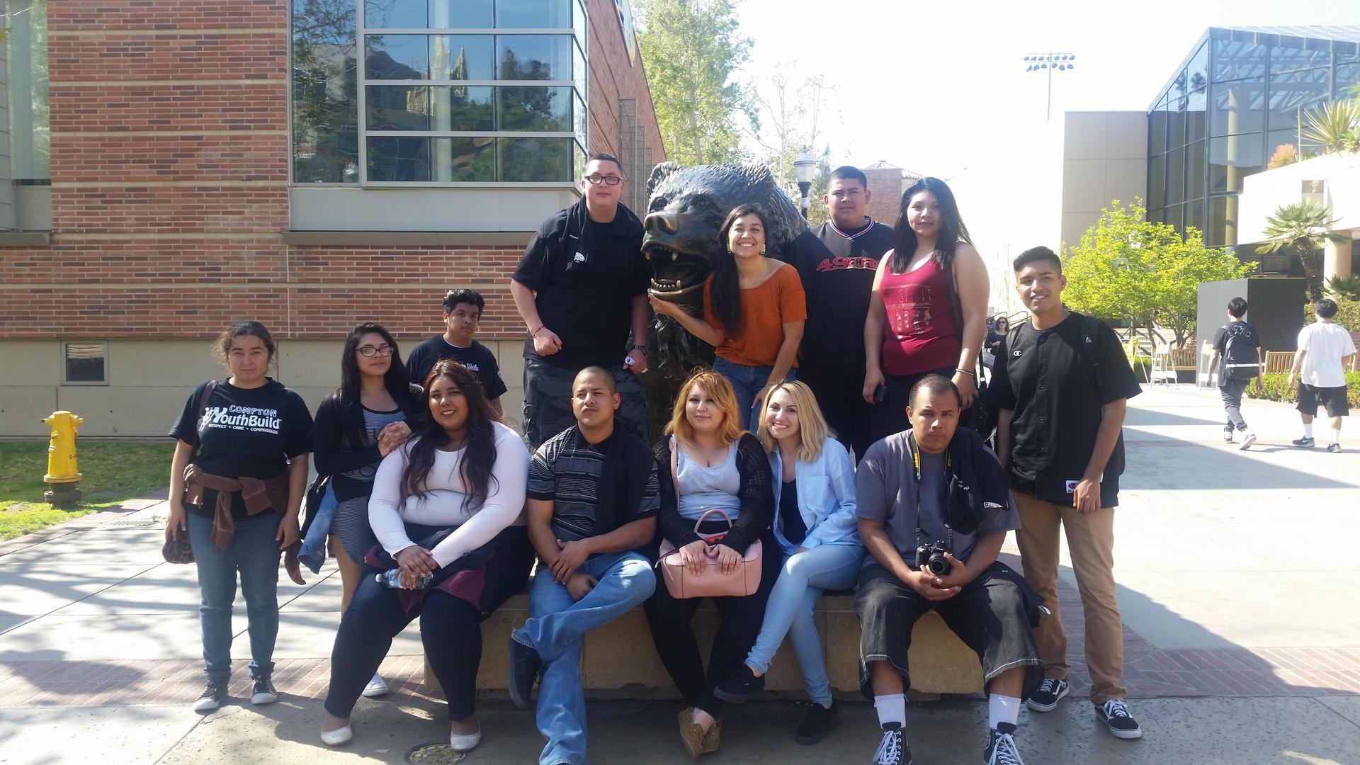 Compton students at UCLA