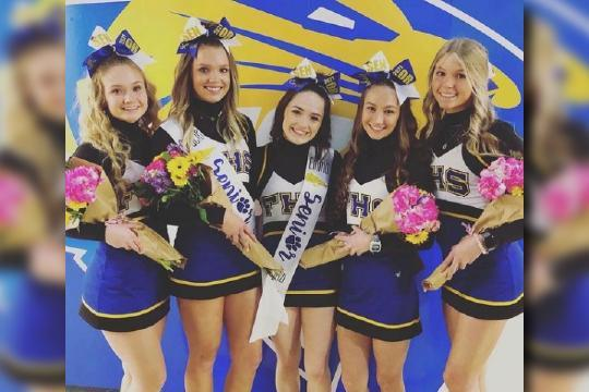 Frenship Academic All State Cheerleaders