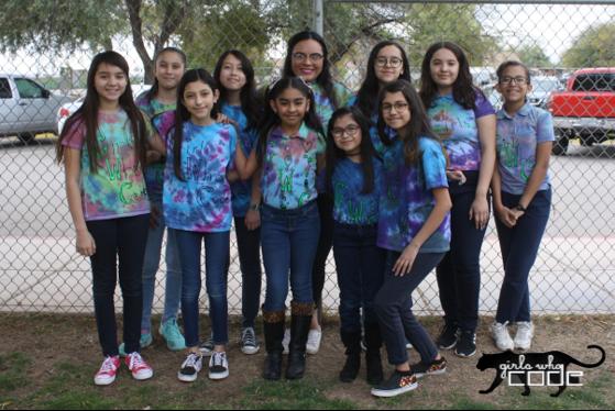Gadsden Elementary School - Girls Who Code Club