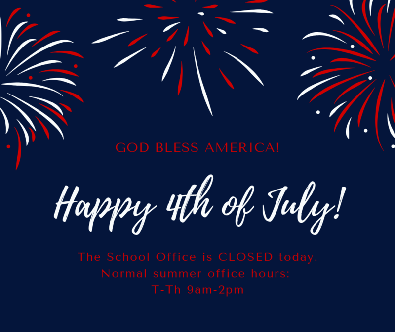 4th of July Office Hours Featured Photo