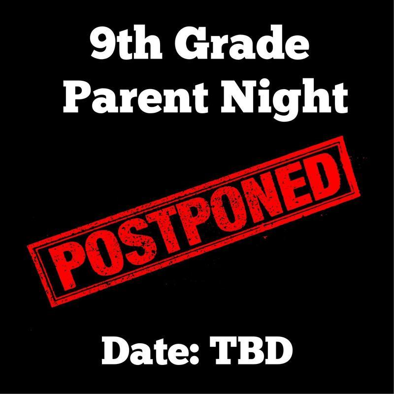 9th Grade Parent Night- POSTPONED Featured Photo