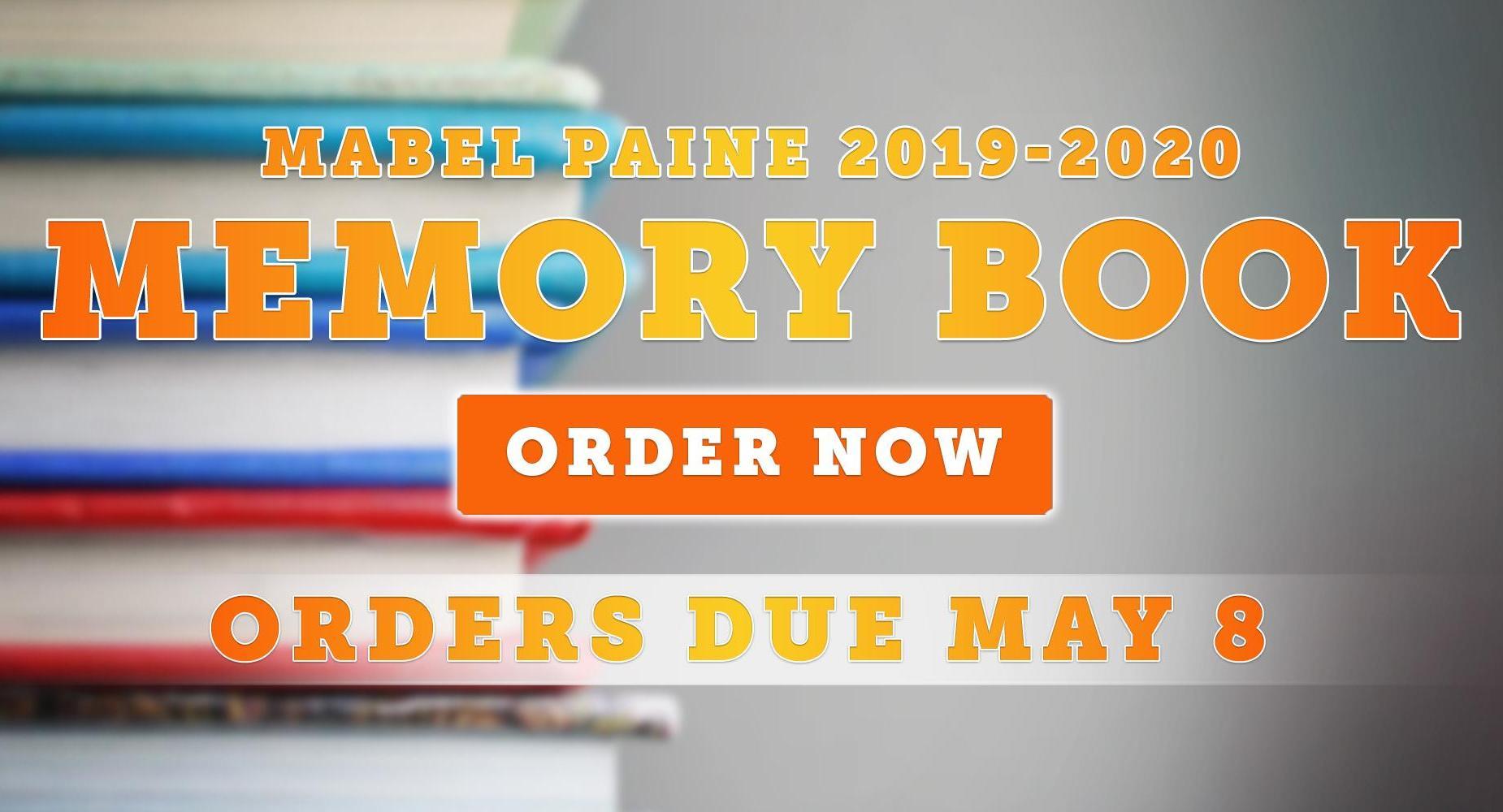 Mabel Paine Memory Book Orders