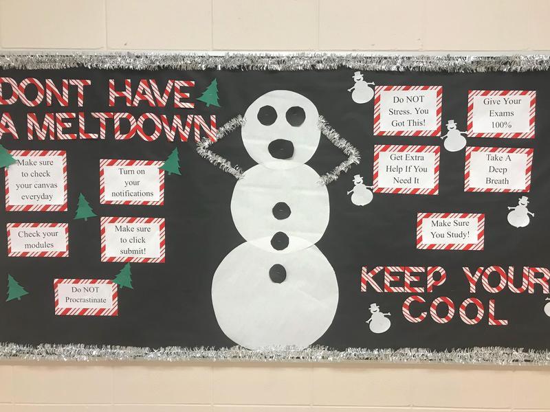 CHS Keep Cool Bulletin Board