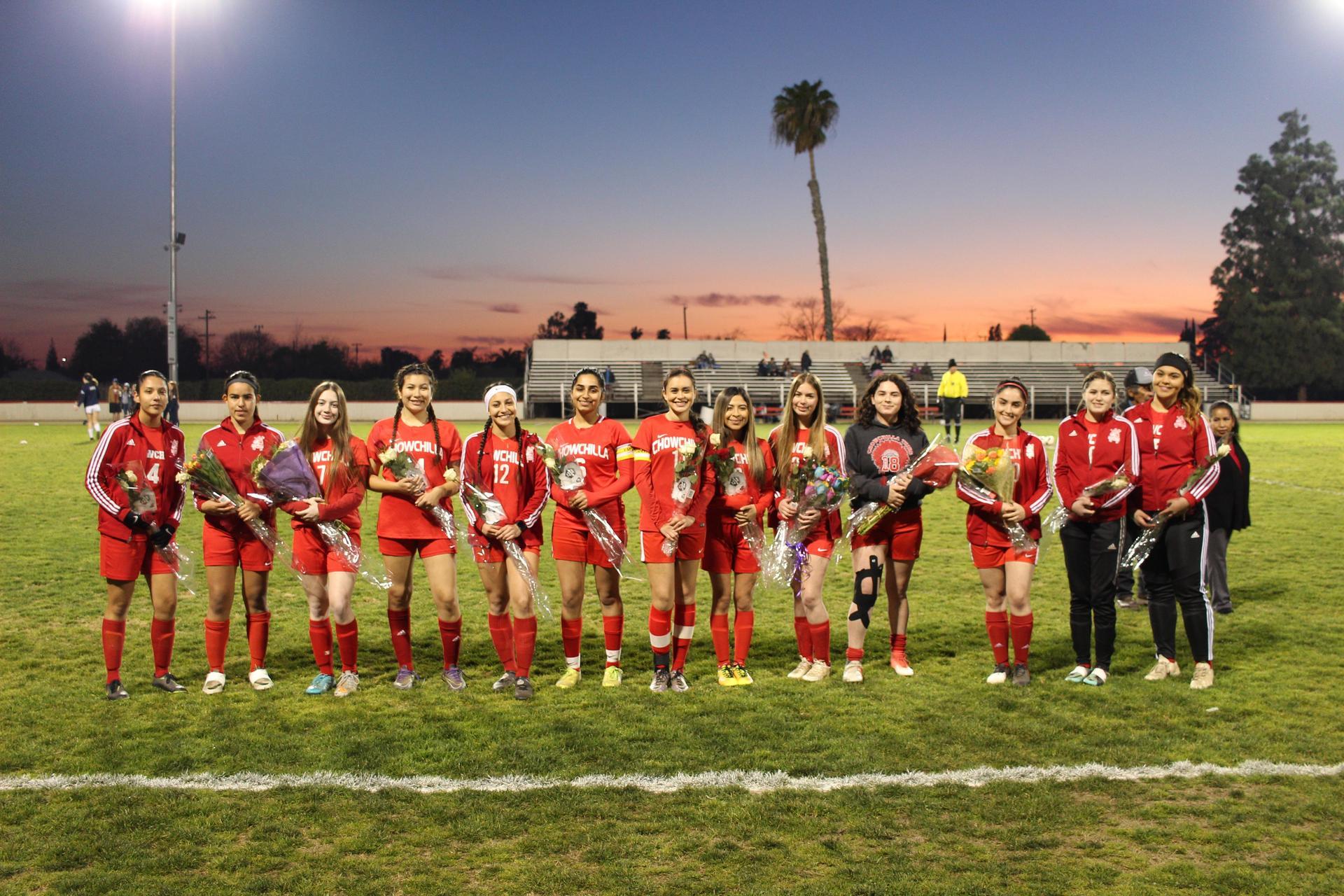 2020 Girls Soccer Seniors