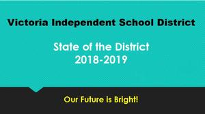 victoria isd state of the district