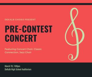 Pre-Contest Concert