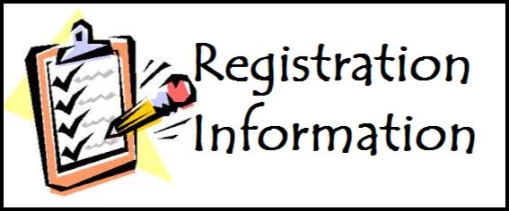 registration info clip art