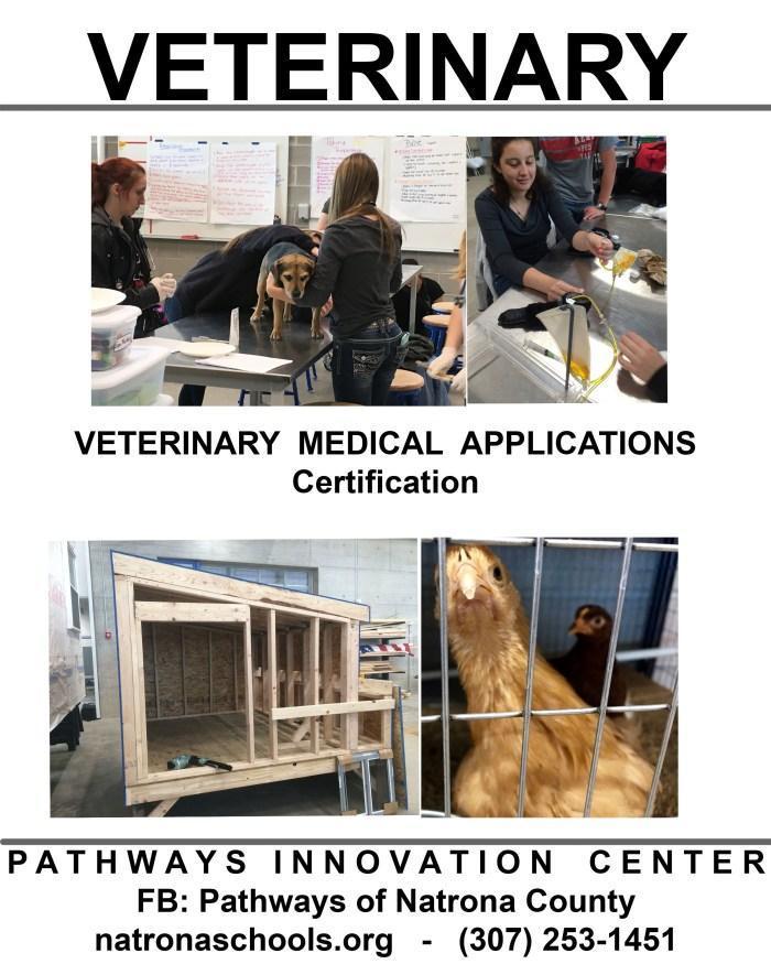Pathway Innovation Center Veterinary Program Flyer