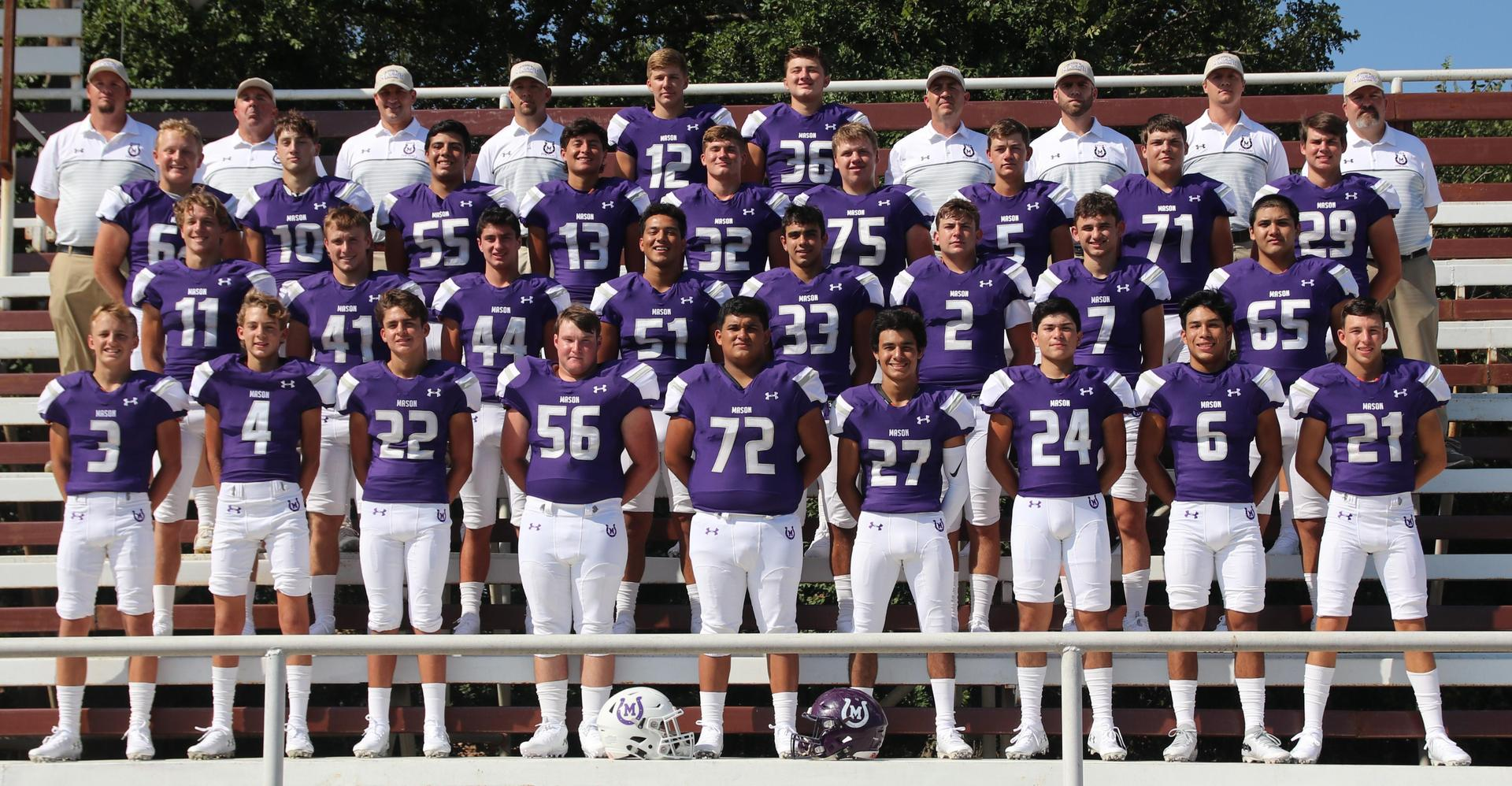 Puncher Varsity Football Team 2019