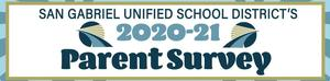Logo with school year for parent survey