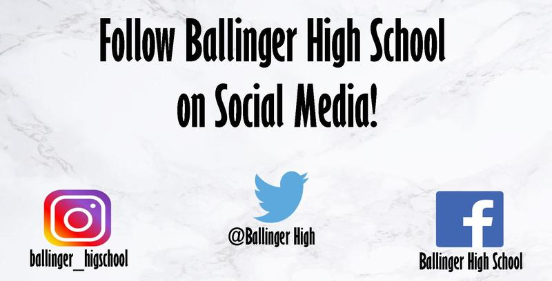 Follow BHS on Social Media