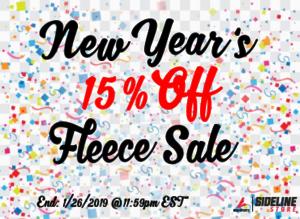 Fleece Sale Promo