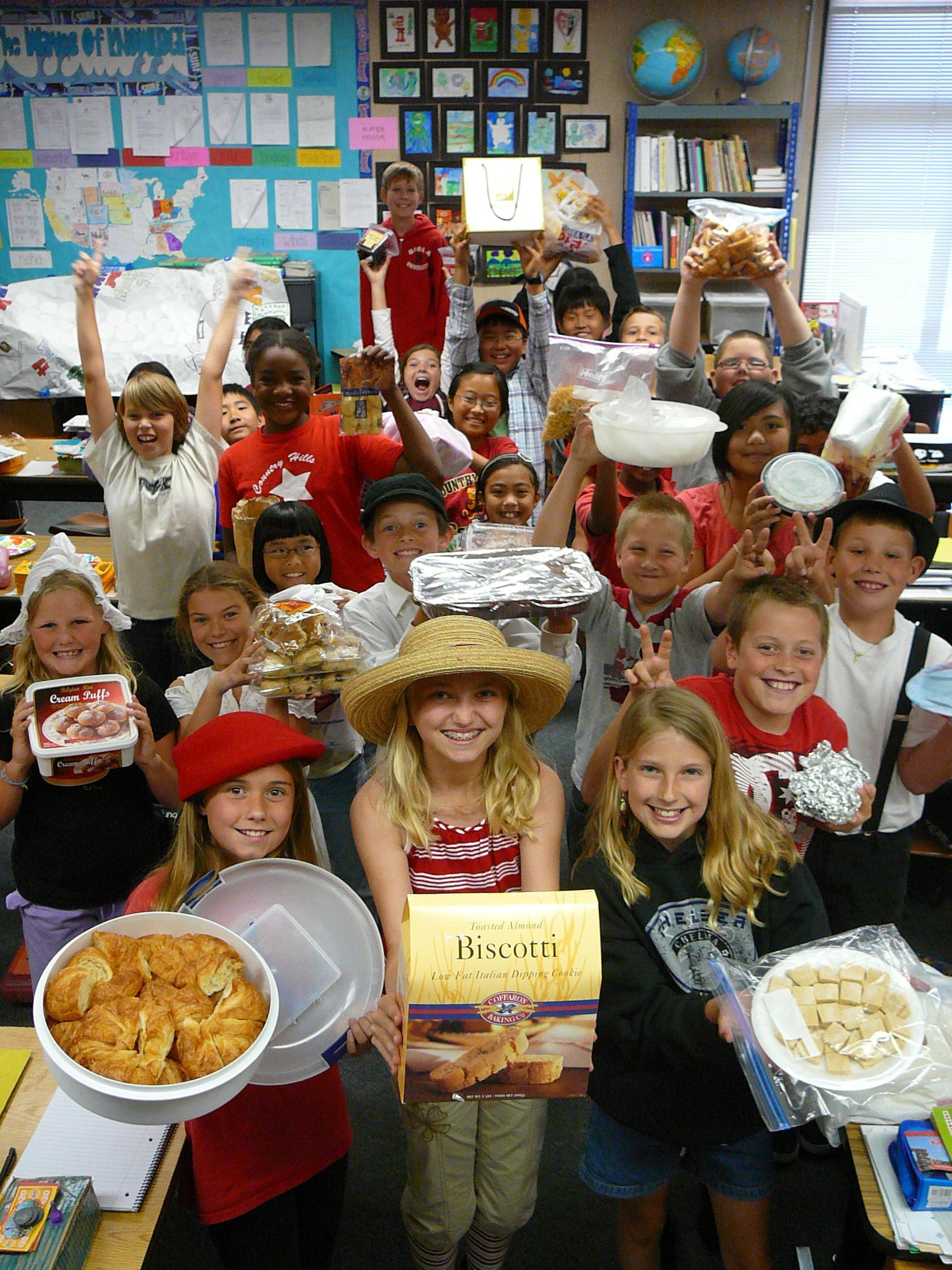 International Food Day!!
