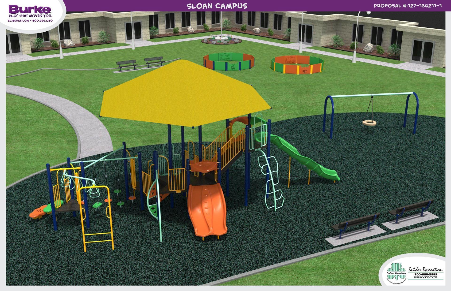 Playground Rendering (Intermediate School)