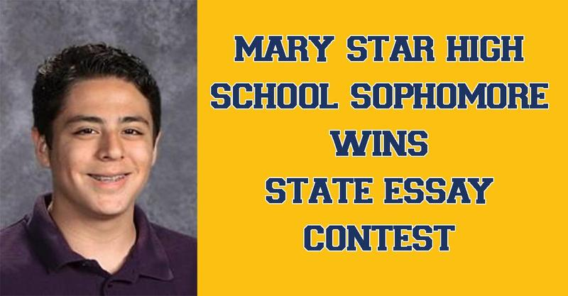 MSHS Sophomore Wins Sate Essay Contest Featured Photo