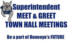 Superintendent Meet & Greet and Town Hall Meetings