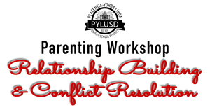 Join PYLUSD for the Parenting Workshop,