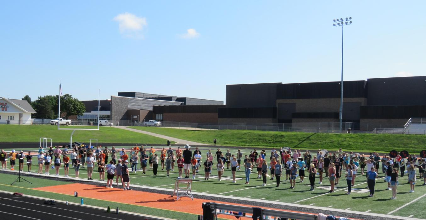Marching Band Camp 2021.