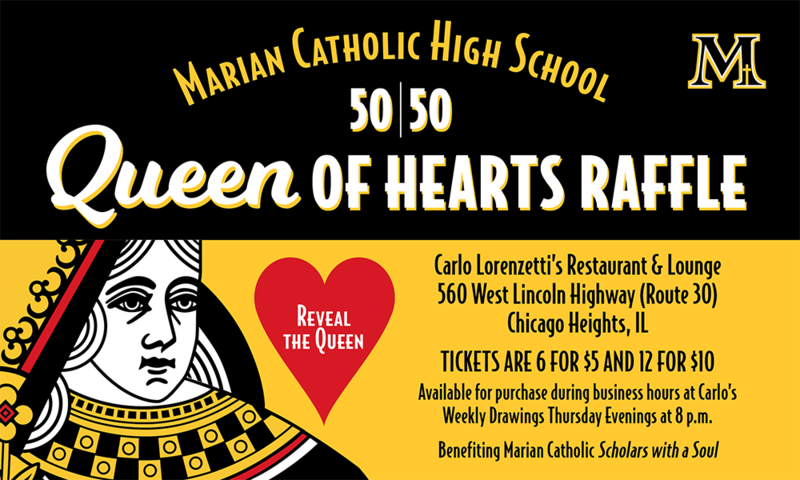 Queen of Hearts Raffle Featured Photo