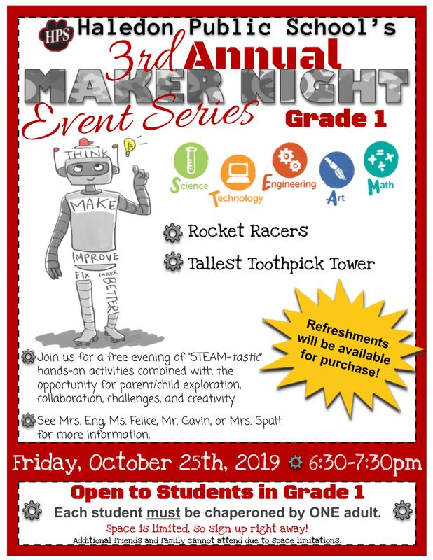 Maker Night Flyer