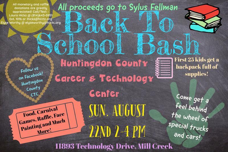 Back to School Bash Fundraiser for the Fellman Family