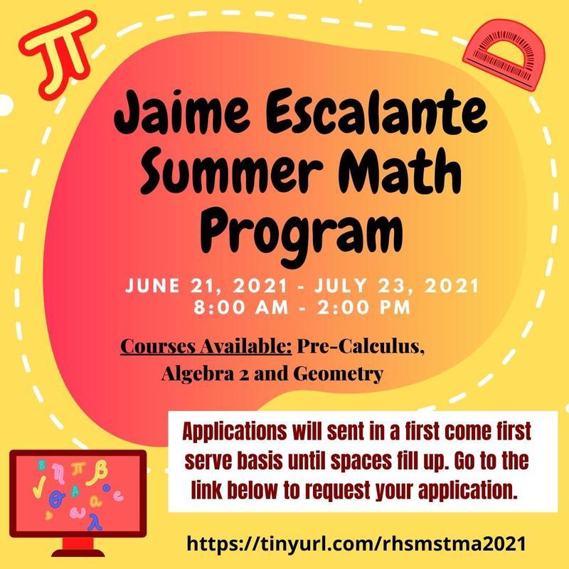 Jaime Escalante Math Program - Apply Today! Featured Photo